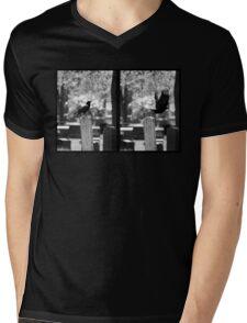 The Birds, style #1 Mens V-Neck T-Shirt