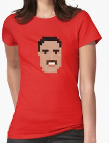 Freddie Face Womens Fitted T-Shirt