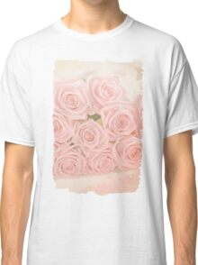 Roses are pink my love Classic T-Shirt