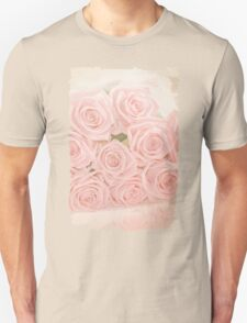 Roses are pink my love Unisex T-Shirt