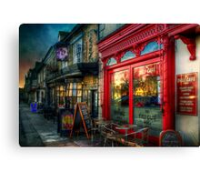The Deli Cafe Canvas Print