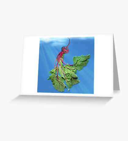 Beethany, the Jellyveggie Greeting Card