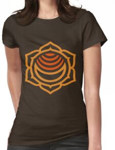 Sacral Chakra: Swadhisthana Womens Fitted T-Shirt