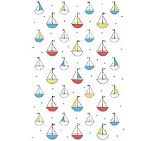 Little Sailboats Simple Photographic Print