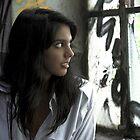 Dhana at the window by SunseekerPix