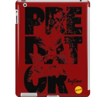 More Than Words - Predator iPad Case/Skin