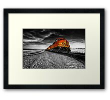 The Power of the Santa Fe  Framed Print