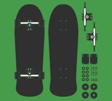 Skate Pieces by Steve Lambert