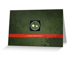 Superintendent - ODST Greeting Card