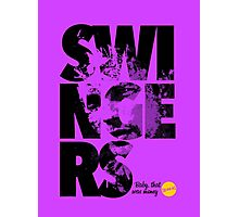 More Than Words - Swingers Photographic Print