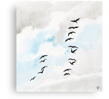 Birds 2 Canvas Print