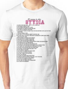 30 reasons to ship Stydia Unisex T-Shirt