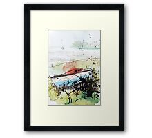 Without The Sea - tale 3 Framed Print