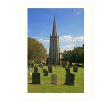 St Mary's, East Brent Art Print