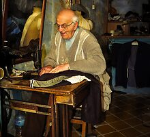 Old Tailor Gozo by Ronald cox