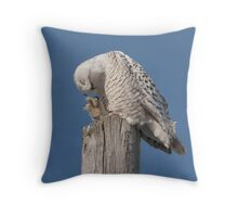 Claws And Beak Alike Throw Pillow