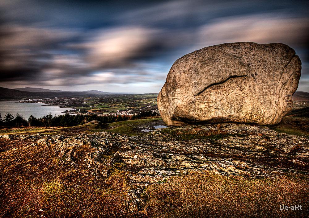 The Stone Throw by De-aRt