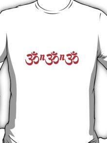 Om Nom Nom – Hybrid Script T-Shirt