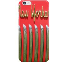 Old New Yorker iPhone Case/Skin