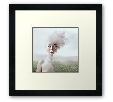 Lady of the Field Framed Print