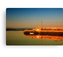 Groomsport Sunset Canvas Print