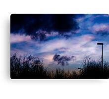 nacreous clouds 6jan 2011 #3 Canvas Print