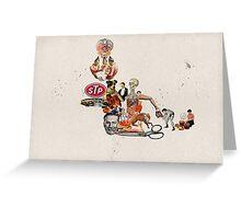 BANQUETE DE VILEZAS (The vile feast) Greeting Card