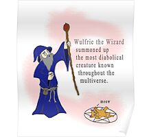Wulfric the Wizard Poster