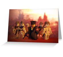 Lego Hellgirl Greeting Card