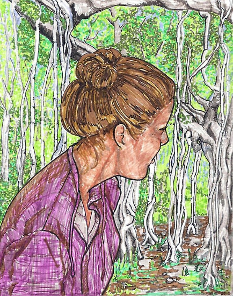 Virginia and the Banyan tree by Sally O'Dell