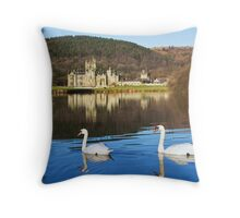 Margam Castle Throw Pillow