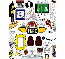 Central Perk Friends TV Sitcom Minimal Art by baray7
