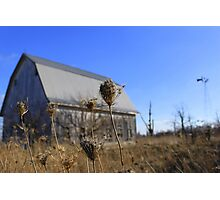 Indiana barn Photographic Print