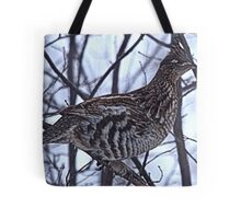And A Partridge in a Elm Tree Tote Bag