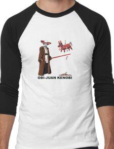 Obi-Juan Kenobi Men's Baseball ¾ T-Shirt