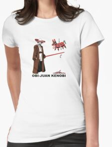 Obi-Juan Kenobi Womens Fitted T-Shirt