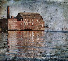 Across Gloucester Harbor by Claudia Kuhn