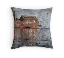 Across Gloucester Harbor Throw Pillow