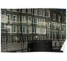 London Reflection. Poster