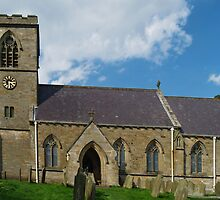 St. Chad's, Middlesmoor by WatscapePhoto