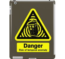 Tardis Danger! iPad Case/Skin