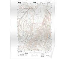 USGS Topo Map Oregon Marley Creek 20110822 TM Poster