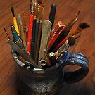 Mug of brushes by mltrue