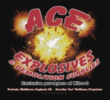 Ace Explosives & Demolition Supplies One Piece - Short Sleeve