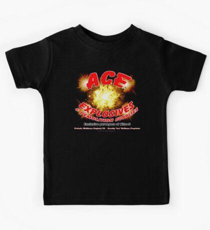 Ace Explosives & Demolition Supplies Kids Tee