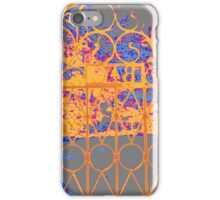 Wrought iron Gate iPhone Case/Skin