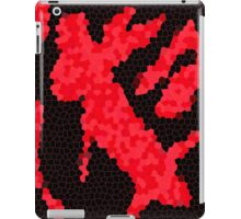 Red And Black iPad Case/Skin