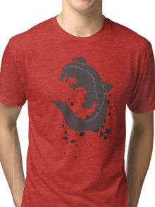Splatter Crocodile Tri-blend T-Shirt