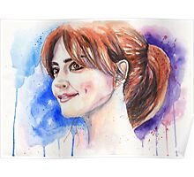 Clara Oswald. Jenna Coleman Poster