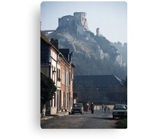 Richards Castle at Les Andelays 19840216 0047 Canvas Print